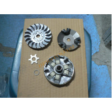 (20) 50/70cc Sliding Sheave, Assembly - Variator - Yamasida Brand for Apex/DRR