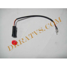 (13)  Indicator Light, Oil(Red)