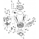 Cylinder Head Cover, Cylinder He