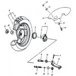 Rear Wheel (12IN SPCC Rim)