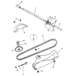 Rea Wheel Axle   Chain