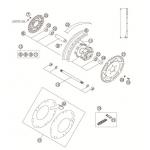 Rear Wheel & Disc