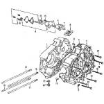 Crankcase, Oil Pump