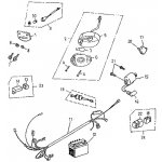 Tail Light, Electrical Parts