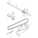 Rear Wheel, Axle, Chain