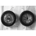 Wheels Front & Rear