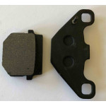 Brake Pad , Disk Brake rear brake pads Green no line in small pad