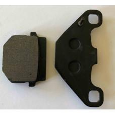 Brake Pad , Disk Brake rear brake pads Green no line in small pad