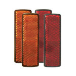 Ansi Required Reflectors Front or Rear amber or red