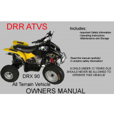 DRX 90 Owners Manual