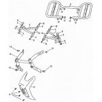 Arm, Floor Panel, Bumper