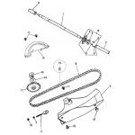 Rea Wheel Axle | Chain