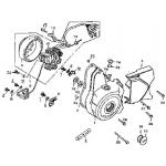 L Crankcase Cover, Generator