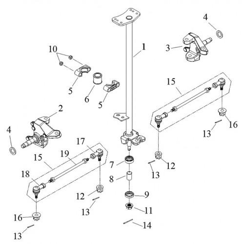Steering, Link 2 A-Arm